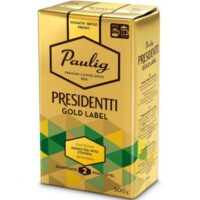 Кофе молотый Paulig Presidentti Gold Label,250 гр